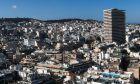 Σπίτια στο κέντρο της Αθήνας - Φωτογραφία αρχείου
