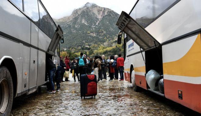 Πρόσφυγες κα μετανάστες στην Ηλεία.