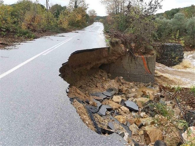 Θάσος: Σε κατάσταση έκτακτης ανάγκης το νησί - Τεράστιες οι καταστροφές από την κακοκαιρία