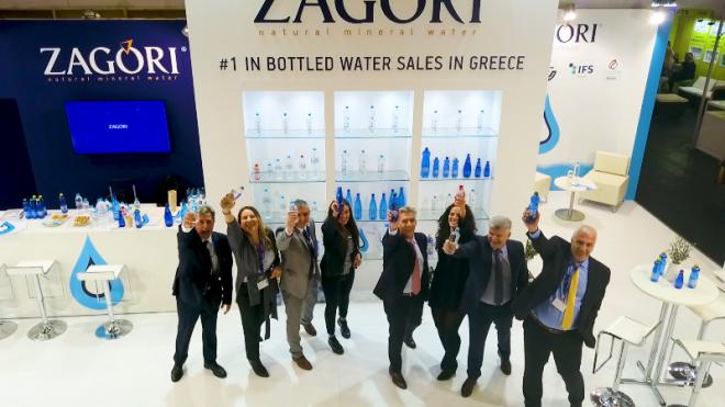 Το «Φυσικό Μεταλλικό Νερό ΖΑΓΟΡΙ» στη διεθνή έκθεση ANUGA 2019
