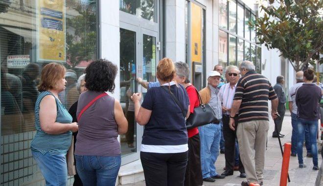 Φωτογραφία από τράπεζα του Αργους - Ιουλιος 2015