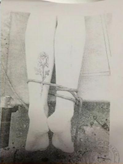 Δολοφονία φοιτήτριας στη Ρόδο: Η φωτογραφία που δείχνει τα δεμένα της πόδια