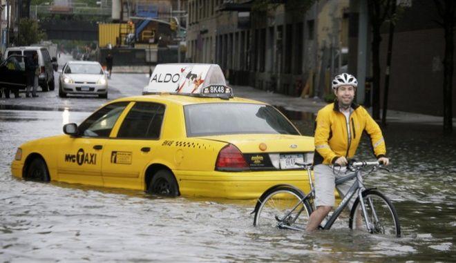 Τα φαινόμενα της κλιματικής αλλαγής γίνονται όλο και πιο συχνά
