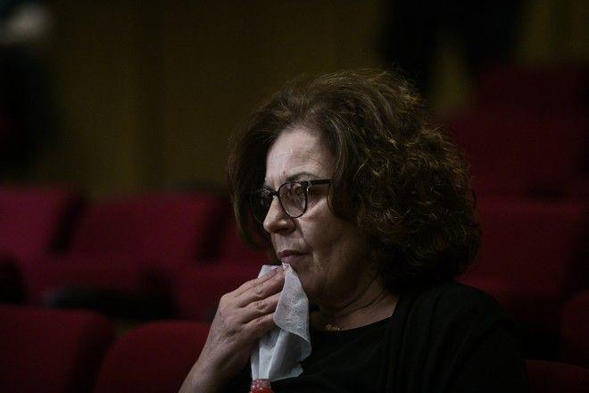 Εξάτση μάρτυρα για την διαδικασία αναστολής ποινών στους κατηγορούμενους στην δίκη της Χρυσής Αυγής την Τετάρτη 14 Οκτωβρίου 2020. (EUROKINISSI/ΤΑΤΙΑΝΑ ΜΠΟΛΑΡΗ)