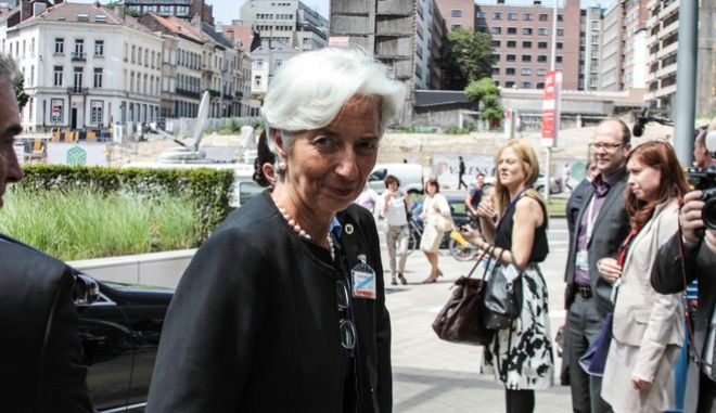 Arrivals for the extraordinary Eurogroup meeting in Brussels, Belgium on June 25, 2015.