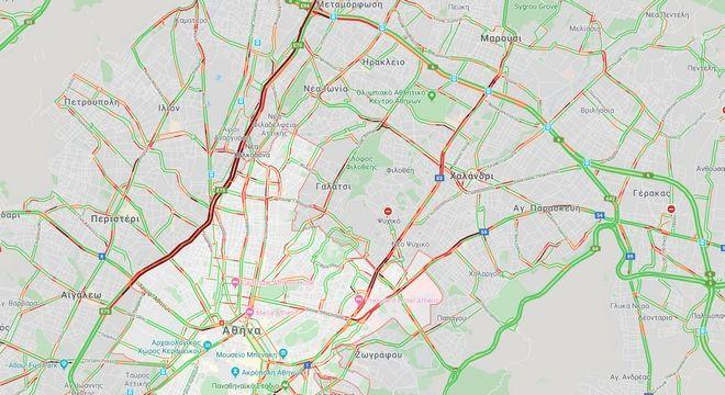 Κίνηση στους δρόμους: Μαρτυρική Δευτέρα για τους οδηγούς