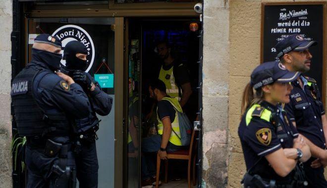 Αστυνομία στην Ισπανία (φωτογραφία αρχείου)