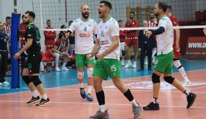 Ολυμπιακός - Παναθηναϊκός 2-3: Πράσινη ολική ανατροπή στον πρώτο τελικό