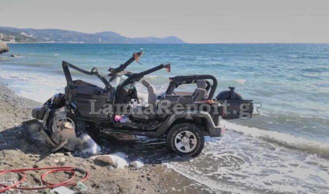 Θρήνος στην Κύμη. Αυτοκίνητο με παρέα νεαρών έπεσε σε γκρεμό