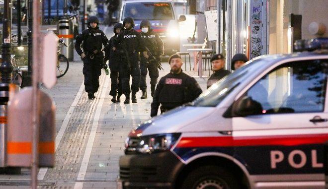 Αντιτρομοκρατική επιχείρηση στη Βιέννη