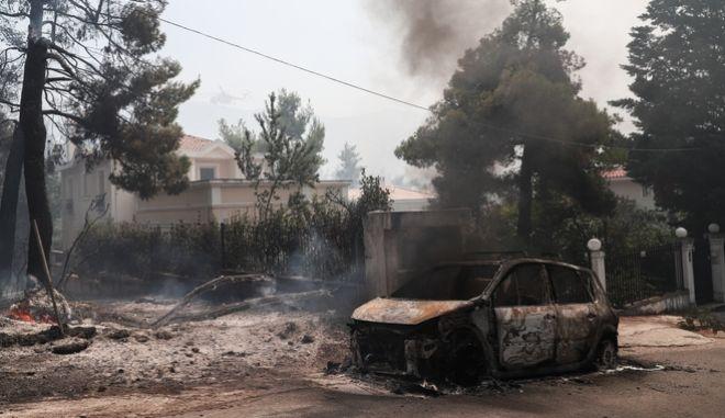 Σύλληψη μελισσοκόμου για τη φωτιά σε Σταμάτα, Ροδόπολη, Διόνυσο