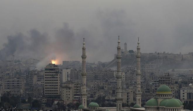Έκρηξη στο Χαλέπι