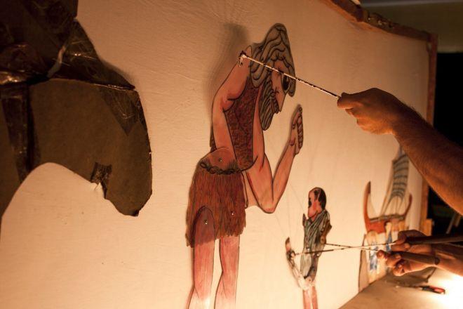 Παράσταση Καραγκιόζη, αλλά και εργαστήριο κατασκευής φιγούρων για παιδιά, στο Φεστιβάλ Άνδρου