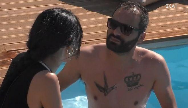 """Ο Κώστας Στυλιανάκης στο """"Big Brother 2"""""""