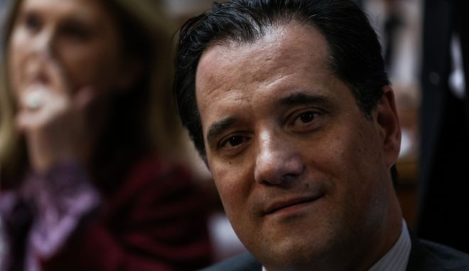 Ο αντιπρόεδρος της Νέας Δημοκρατίας, Άδωνις Γεωργιάδης