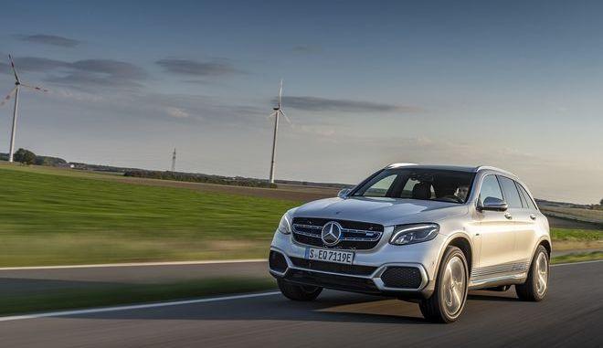 Το υδρογονοκίνητο Mercedes-Benz GLC F-CELL