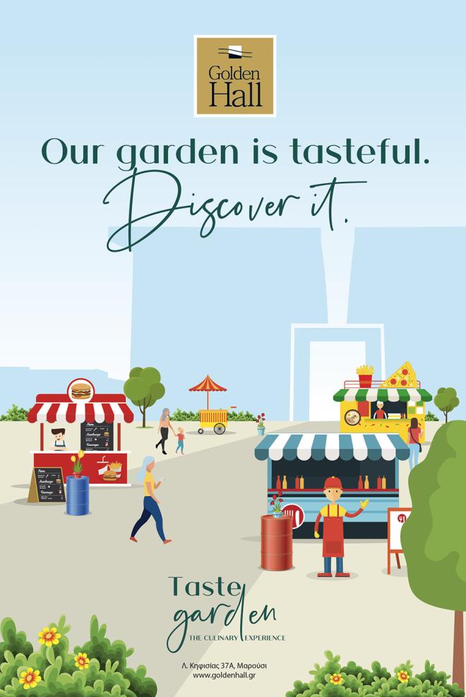 Taste Garden @ Golden Hall!