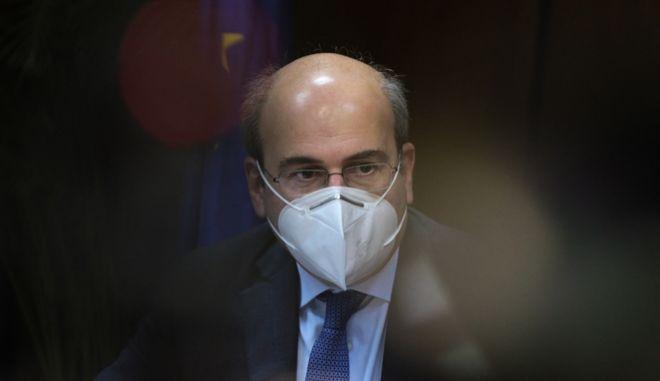 Ο υπουργός Εργασίας και Κοινωνικών Υποθέσεων, Κωστής Χατζηδάκης