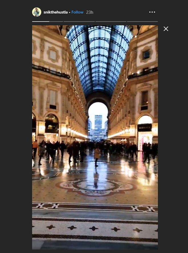 Ηλιάνα Παπαγεωργίου - SNIK: Μαζί στο Μιλάνο για τον ημιτελικό του GNTM 2