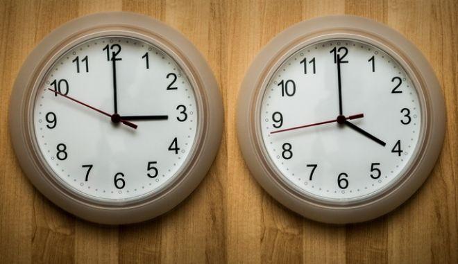 Την Κυριακή 31 Μαρτίου αλλάζει η ώρα