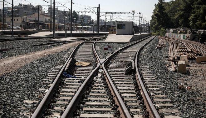 Σιδηροδρομική γραμμή (φωτογραφία αρχείου)