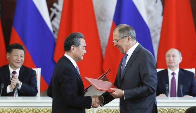 Νέα δυναμική στις σχέσεις Ρωσίας - Κίνας