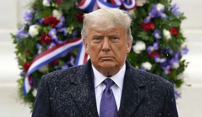 Ο πρόεδρος των ΗΠΑ, Ντόναλντ Τραμπ