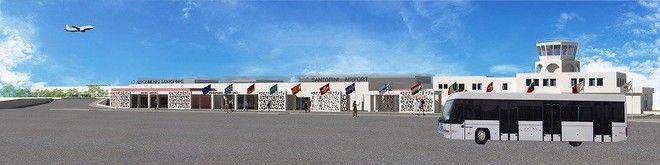 Παρουσιάστηκαν στην τοπική κοινωνία τα σχέδια της Fraport για το αεροδρόμιο Σαντορίνης