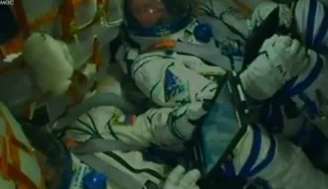 Οι δύο αστροναύτες