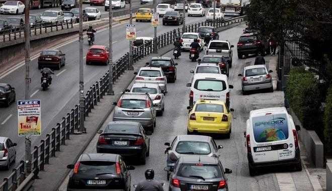 Αυξημένη κίνηση στους δρόμους