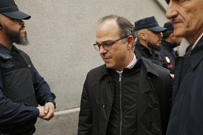Ο  υποψήφιος πρόεδρος της περιφέρειας της Καταλονίας Jordi Turull