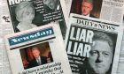 Τα πρωτοσέλιδα των αμερικανικών εφημερίδων την επομένη της παραδοχής Κλίντον