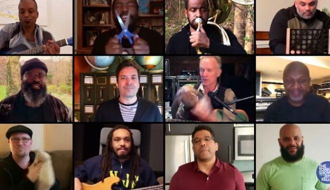 Κορονοϊός: Sting, Jimmy Fallon και The Roots έφτιαξαν το απόλυτο remix
