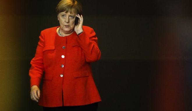 Η καγκελάριος της Γερμανίας Άγκελα Μέρκελ
