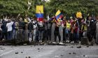 Εικόνες από τις διαδηλώσεις στην Κολομβία κατά της φορολογικής μεταρρύθμισης