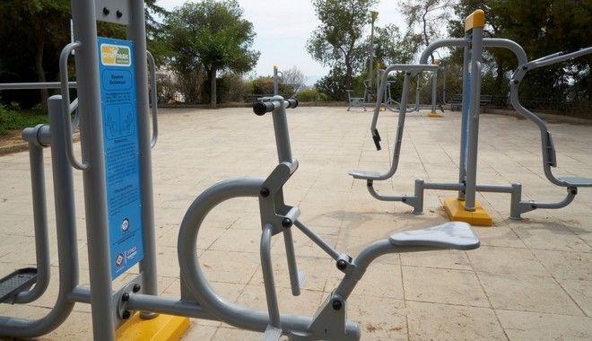 Το ανοιχτό γυμναστήριο στην Κυψέλη