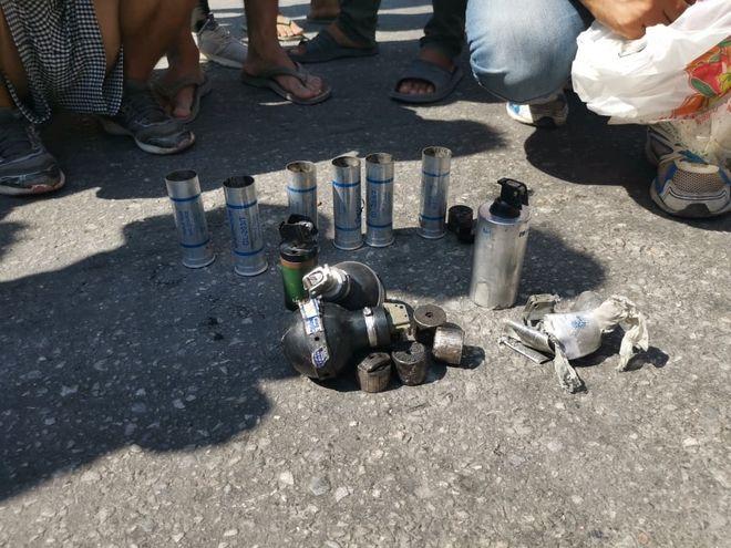 Λέσβος: Επεισόδια και πετροπόλεμος