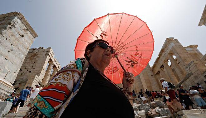 Ηλιοφάνεια στην Αθήνα