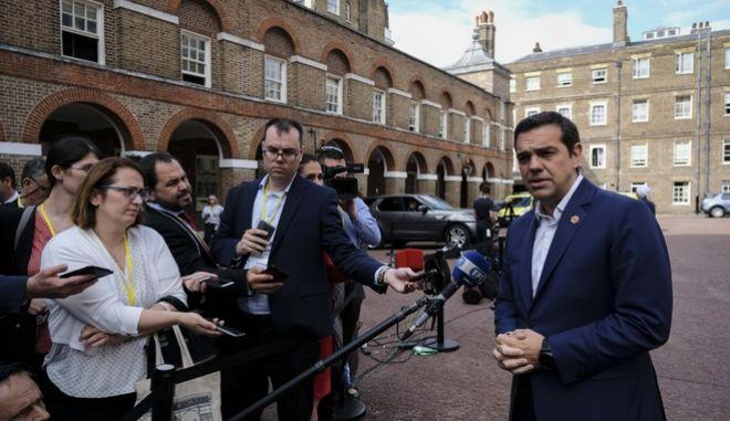 Τσίπρας: Η Ελλάδα επιστρέφει. Βγαίνει από την κρίση, ανακτά ηγετικό ρόλο στα Βαλκάνια