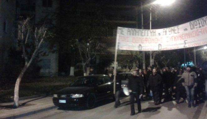 Πορεία διαμαρτυρίας στη Θεσσαλονίκη για την αδικοχαμένη 13χρονη