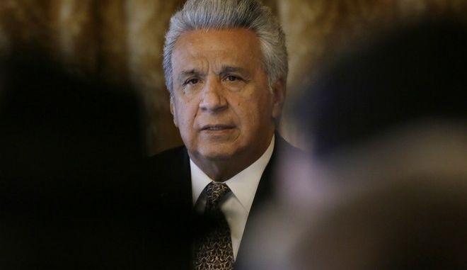 Ο Πρόεδρος του Ισημερινού, Λενίν Μορένο