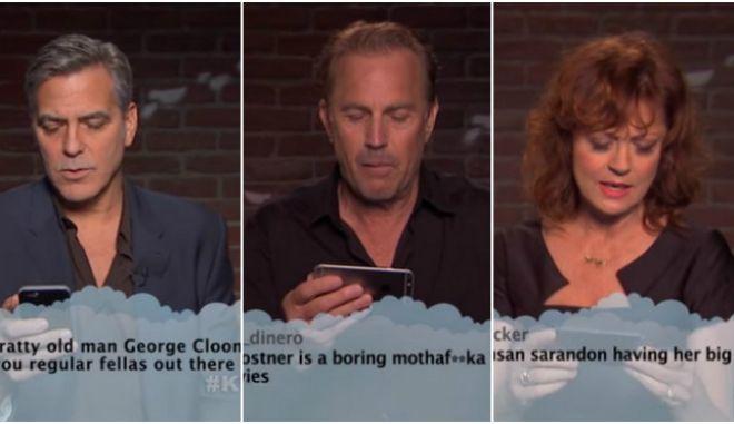 Βίντεο: Οι αστέρες του Hollywood διαβάζουν άσχημα σχόλια στο twitter