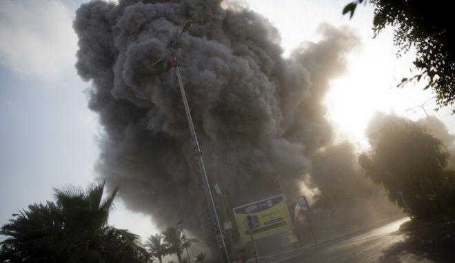 Έκρηξη στη Γάζα(αρχείου)