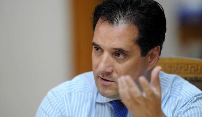 Συνέντευξη τύπου του υπουργού Υγείας Άδωνι Γεωργιάδη την Τέταρτη 10 Ιουλίου 2013. (EUROKINISSI/ΑΝΤΩΝΗΣ ΝΙΚΟΛΟΠΟΥΛΟΣ)