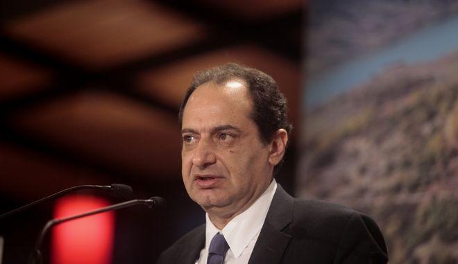 Ο υπουργός Υποδομών και Μεταφορών Χρήστος Σπίρτζης
