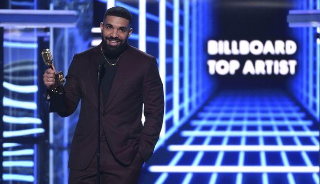 Ο Drake στα Billboard Music Awards, 1η Μαΐου 2019