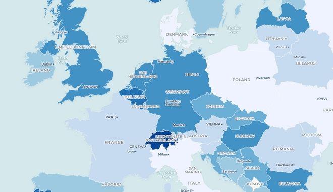 Τις ακριβότερες χρεώσεις δεδομένων στην ΕΕ έχει η Ελλάδα