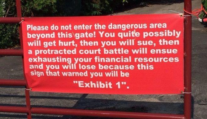 """Η """"πικρή"""" αλήθεια και η απόλυτη παράνοια σε αυτές τις πινακίδες βγάζει τρελό γέλιο"""