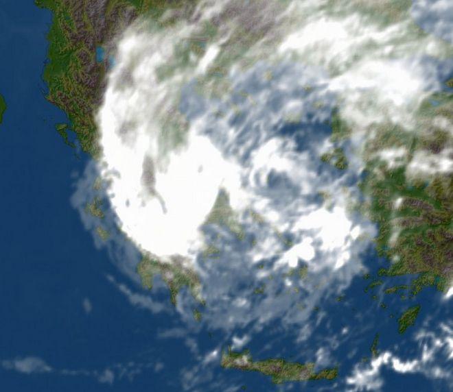Δορυφορική εικόνα από την ΕΜΥ