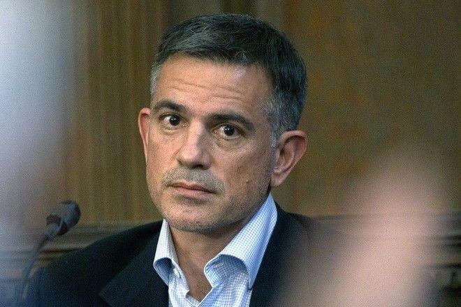 Ο Φώτης Ντούλος στο Δικαστήριο τον Ιανουάριο του 2020